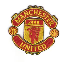 "Manchester United Patch Size 2.75"" x 2.5"" Premier League Soccer Red Devils"