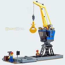 Lego ® City ferrocarril grúa-planta de productos secos a granel procedentes de 60098 nuevo Train schwerlastzug