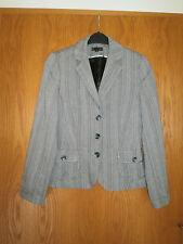 ZERO - Schicke graue Jacke / Blazer in Gr.: 42