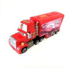 Disney Pixar Cars Plastic #95 Uncle Mack Truck with Hauler Mini Toy Car Loose