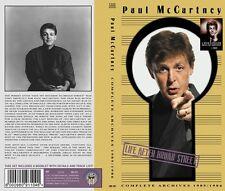 Paul McCartney -Beatles- Life After Broad Street - 4 DVD BOX Set Limited Edition