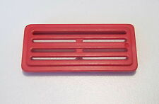 PLAYMOBIL (Q3127) CHANTIER - Grille Aération Rouge Partie Avant Remorque 3777
