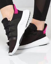 Adidas Tubular Dusk Shoe Women Black White Pink Size 7