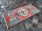 Carpet, Doormats, Small rug, Vintage handmade rug, Wool rug | 1,4 x 2,9 ft