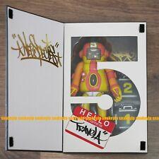 "Doze Green TRAVELA first 7"" vinyl figure LTD3000 EXPOSTYLE Japan +Kidrobot Bonus"