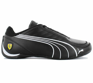 New mens Puma Ferrari Future Kart cat motorsport shoes black white 306170 02 new