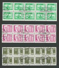 DDR ROLLENMARKEN 1868 1869 1968 v R UNZERTRENNTE BOGENTEILE 2 x 5er RAR!! m1285