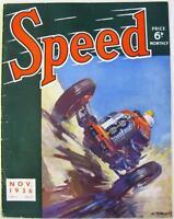 SPEED Magazine Nov 1936 - Donington Grand Prix, Kohlrausch 746cc, Brooklands