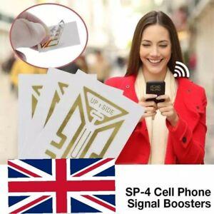 5 Pcs Cell Phone Signal Enhancement Stickers Signal Booster UK Seller 🇬🇧
