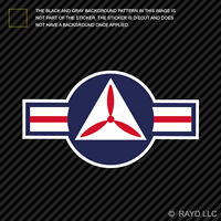 United States Air Force USAF Civil Air Patrol Roundel Sticker Decal Adhesive