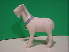 Lenox First Blessing Goat Nativity sculpture New in Box
