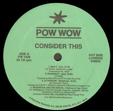 VARIOUS - Consider This - Pow Wow