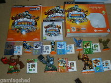 SKYLANDERS GIANTS BOOSTER PACK LOT SONY PLAYSTATION PS3 GAME 7 FIGURE GUIDE CARD