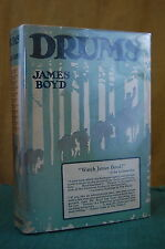 Drums by James Boyd Scribner's 1925 inscribed by author 11th Ptg Hardback DJ