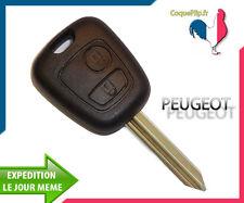 Coque Télécommande Plip Bouton Peugeot Partner Expert + Cle vierge