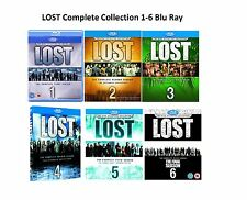 LOST Complete Collection Series 1-6 Blu Ray Season 1 2 3 4 5 6 UK Release R2