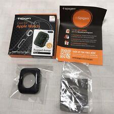 Spigen Rugged Armor Apple Watch Series 1 2 3 42mm Black Slightly Used