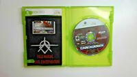 Crackdown Microsoft Xbox 360 Complete CIB Good Disc Video Games Gaming