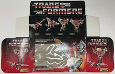1985 HASBRO TRANSFORMERS G1 SWOOP BOX ONLY GENERATION ONE AUTOBOTS DINOBOTS