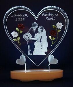 Christian Wedding Gifts for Couple,Wedding Décor, Wedding Photo on clear acrylic