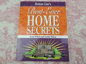 Best-Ever Home Secrets by Joan and Lydia Wilan 2008 Paperback