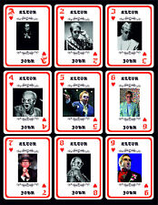 ELTON JOHN 1 BOX WITH 54 POKER PLAYING CARDS - ARGENTINA! - NIB
