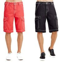 True Religion Men's Issac Trooper Cargo Shorts (28, 29, 30)