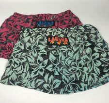Vintage 80s LAGUNA Swim Shorts Trunks Lot of 2 SIZE Mens XL 40-42