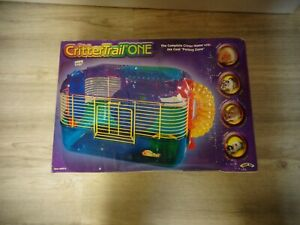 """Critter Trail One The Complete Critter Home with the Cool """"Petting Zone"""""""