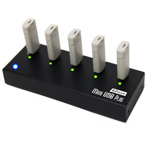 1 to 4 USB Drive Duplicator - Multiple Flash Memory Data Storage Compact Copier