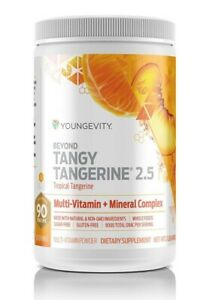 Youngevity Beyond Tangy Tangerine 2.5 Multivitamin powder, fast delivery
