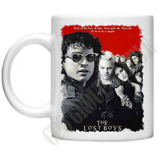 The Lost Boys Distressed Movie Poster Mug Horror Movie Vampires Blood Suckers