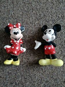 Mickey And Minnie Mouse Figures