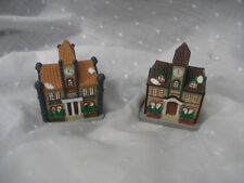 "Christmas village 2 houses 3"" tall"