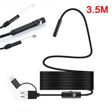3.5M USB Type-C Endoscope Borescope Snake Inspection Camera Android Mobile Phone