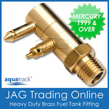 BRASS FUEL TANK END FITTING MERCURY/MARINER 1999 & UP - Boat/Outboard Fuel Line