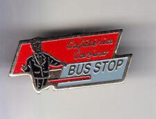 RARE PINS PIN'S .. HYPERMARCHE  SUPERMARCHE GROUPE CASINO CAFETERIA BUS STOP ~CK