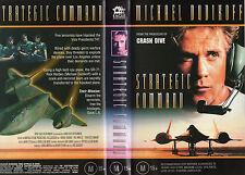 STRATEGIC COMMAND-Dudikoff -VHS NEW-Never played!-Very rare!-Original Oz releas