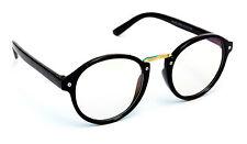 Sunglasses Round  Black Transparent Spectacle Frame Nightwear Eyeglasses