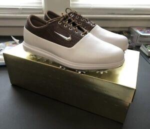 NIKE Air Zoom Victory Tour GOLF Shoes White Tan AQ1478-101 Mens Size 10.5 W New