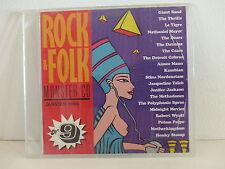 CD Sampler Rock & Folk 9 THRILLS LE TIGRE DATSUNS JACQUELINE TAIEB WYATT CZARS