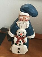 APL Signed & Numbered #0259 Carved Resin Noki Finland Santa Claus Christmas