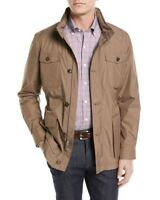 Peter Millar All-Weather Discovery Jacket Brown Men's Size XL $798
