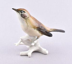 Karl Ens Volkstedt Porcelain Germany, Warbler Figurine #7437