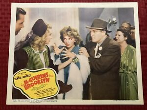 The McGuerins From Brooklyn Original Movie Lobby Card 1942 11x14