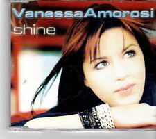 (FM575) Vanessa Amorosi, Shine - 2001 DJ CD