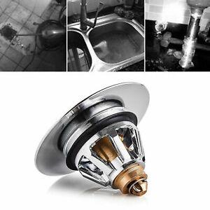 Bounce Core Push Type Sink Drain Plug Basin -up Drain Filter Universal US