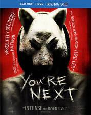 New! You're Next on Blu-Ray + DVD + Digital HD - Horror - Tucci Swanberg Wingard
