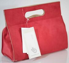 Mandarina Duck Women Red Leather Purse / Bag Limited Edition Magnetic Clasp NEW!