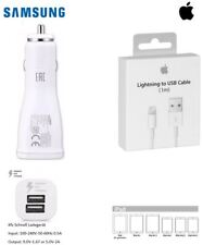 Original Auto Kabel KFZ USB Ladegerät Ladekabel Stecker Für Apple iPhone 8 X
